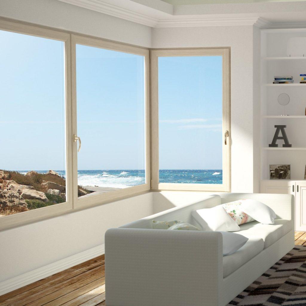 Luftiga pvc fönster